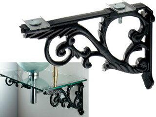 ブラケット/鋳鉄、黒色塗装250-005-D