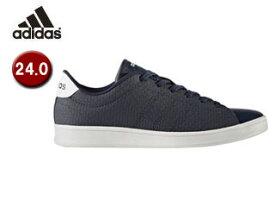 【在庫限り】 adidas/アディダス 【在庫限り】■BB9612 adidas NEO VALCLEAN QT W レディース 24.0(カレッジネイビー×ランニングホワイト)