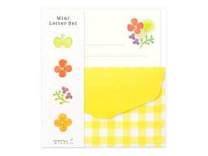 MIDORI/ミドリ ミニレターセット 水彩柄 91802610