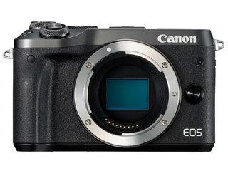 CANON/キヤノン EOS M6・ボディー(ブラック) ミラーレスカメラ