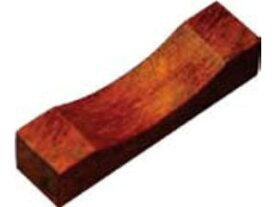 MARUJYU/丸十 木製 角型箸置 鉄木 目摺り