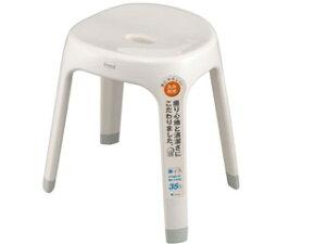 ASVEL/アスベル Emeal (エミール)風呂椅子 高さ35cm ホワイト