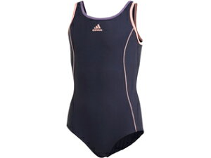 adidas/アディダス BOS Swimsuit Girl J100 (レジェンドインク/ショックシアン) FI8269