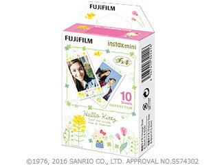 FUJIFILM/フジフイルム チェキ専用フィルム 絵柄入りフレームタイプ (ハローキティ3) instax mini HELLO KITTY3