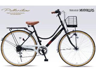 MyPallas/マイパラス M504 シティサイクル 【26インチ】 6段変速 オートライト (ブラック) メーカー直送品のため【単品購入のみ】【クレジット決済のみ】 【北海道・沖縄・九州・四国・離島不可】【日時指定不可】商品になります。