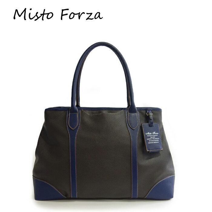 Misto Forza/ミストフォルツァ FMH33 合皮 トートバッグ (グレー) ロワード メンズ カジュアル 大人 ビジネス