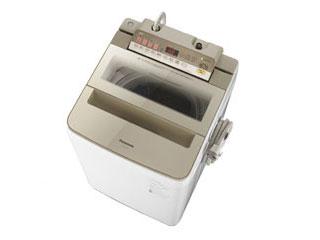 【標準配送設置無料!】 Panasonic/パナソニック 【まごころ配送】NA-FA80H6-H 全自動洗濯機 (シャンパン)【洗濯・脱水容量 8kg】 【お届けまでの目安:12日間】