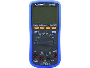 CUSTOM/カスタム デジタルマルチメータ CDM-7300