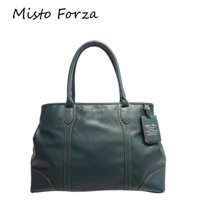 Misto Forza/ミストフォルツァ FMH33 合皮 トートバッグ (カーキ) ロワード メンズ カジュアル 大人 ビジネス