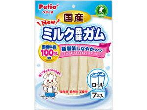 Petio/ペティオ NEW国産ミルク風味ガム ロール 7本