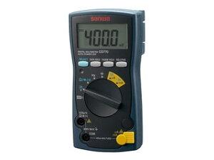 sanwa/三和電気計器 デジタルマルチメータ/新スタンダード CD770
