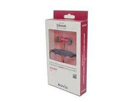 NAGAOKA NAGAOKA Bluetooth5.0対応 アルミニウムハウジング高音質ワイヤレスイヤホン M205EP レッド M205EPRD