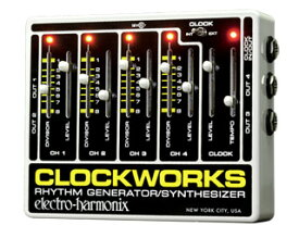 【nightsale】 electro harmonix/エレクトロハーモニクス Clockworks リズムジェネレーター/シンセサイザー 【国内正規品】