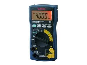 sanwa/三和電気計器 デジタルマルチメータ バックライト搭載 CD771