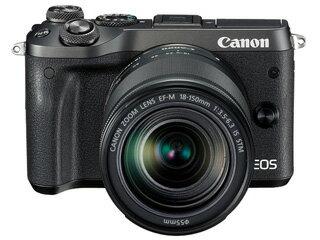 CANON/キヤノン EOS M6(ブラック)・EF-M18-150 IS STM レンズキット 1724C024