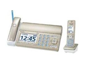 【nightsale】 Panasonic/パナソニック KX-PZ720DL-N FAX機 おたっくす シャンパンゴールド 子機1台 /普通紙
