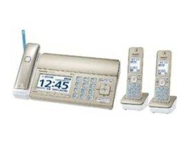 【nightsale】 Panasonic/パナソニック KX-PZ720DW-N FAX機 おたっくす シャンパンゴールド 子機2台 /普通紙