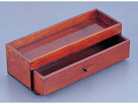 YAMACO/ヤマコー 木製カスター&箸箱ブラウン