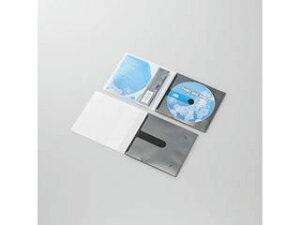ELECOM/エレコム CD/DVD用ソフトケース 1枚収納 10個入り ブラック CCD-DPC10BK