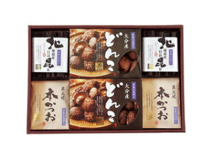 日本三大だし 椎茸・鰹節・昆布 詰合せ NSD40