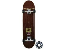 SURPATH/サーパストレーディング GO31R キッズ用 GOSK8/ゴースケート 31インチ (R-brown)