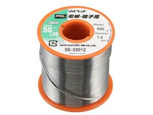 TAIYO/太洋電機産業 【goot/グット】SE-55016 リール巻鉛入りはんだ 電線・端子用はんだ (500g φ1.6mm)