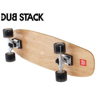 DUB STACK/ダブスタック LSB627-NA クルージング スケートボード (Natural)