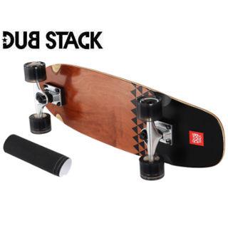 DUB STACK/ダブスタック LSB627-BR クルージング スケートボード (Brown)