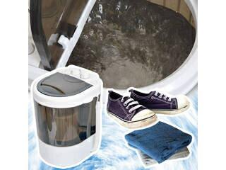 THANKO/サンコー 【納期未定】【お年頃の娘さんへ。お父さんのパンツもコレで洗えば大丈夫!?】ミニ洗濯機2 RMCSMAN4
