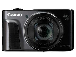 CANON/キヤノン PowerShot SX720 HS(ブラック) 【catokka】