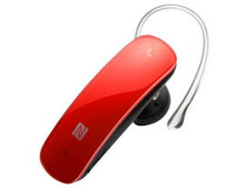 BUFFALO/バッファロー Bluetooth4.0対応 ヘッドセット NFC対応モデル レッド BSHSBE33RD