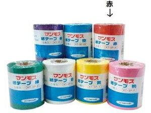 マンモス 紙テープ5巻入 赤 KT-5P-R