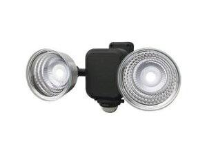 musashi/ムサシ ★★★3.5W×2灯 フリーアーム式LED乾電池センサーライト LED-265