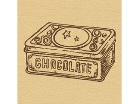 ARTE/アルテ ウッドスタンプ A 柄:チョコレート缶 WS-A-05 【スタンプ】【はんこ】【手作り】【デコレーション】【message】【card】