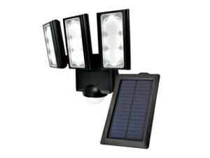 エルパ LEDセンサーライト ソーラー発電式 3灯 ESL-31...