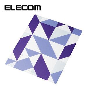 ELECOM/エレコム マウスパット おしゃれ 幾何学 大きい XLサイズ 抗菌 パターンデザイン ジオメトリック MP-TBGGEO