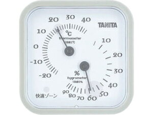 TANITA/タニタ 温湿度計/グレー/TT557GY