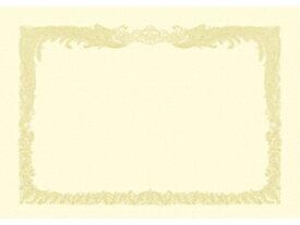 ササガワ/タカ印 OA賞状用紙100枚入 B4縦書クリーム 10-1177 クリーム賞状用紙・縦書き