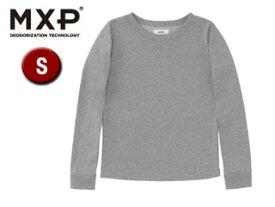 MXP/エムエックスピー MW36154-Z ロングスリーブクルー レディース 【S】(ミックスグレー)