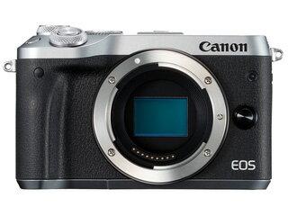 CANON/キヤノン EOS M6・ボディー(シルバー) ミラーレスカメラ