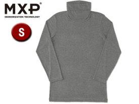 MXP/エムエックスピー MX15344-CH タートルネック8分袖シャツ メンズ 【S】(チャコールグレー)