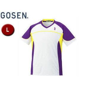 GOSEN/ゴーセン T1504 ゲームシャツ 【L】 (パンジー)