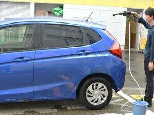 THANKO サンコー お風呂の水やバケツで使える! 充電式タンクレス高圧洗浄機 強力ウォーターガン PBCARWAS