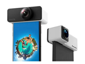 Shenzhen Arashi Vision iPhone7/8対応 360度撮影用レンズ PanoClip CPSLT7X/A ブラック/ホワイト