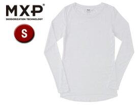 MXP/エムエックスピー MW15341-W クルーネック長袖シャツ レディース 【S】(ホワイト)