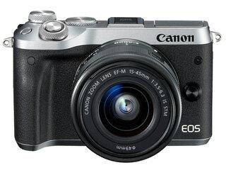CANON/キヤノン EOS M6(シルバー)・EF-M15-45 IS STM レンズキット  1725C014