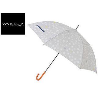 mabu world/マブワールド 【納期未定】MBU-MCJ04 mabu×ことりっぷ 長傘 ジャンプ 日傘/晴雨兼用傘 ワンタッチスリム 58cm (04)