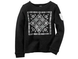 carters/カーターズ 【在庫処分】 24M 長袖Tシャツ ブラック 235G531