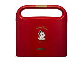 【nightsale】 【台数限定!ご購入はお早めに!】 DOSHISHA/ドウシシャ 【オススメ】Disney ホットサンドメーカーTSH-701D(RD)レッド