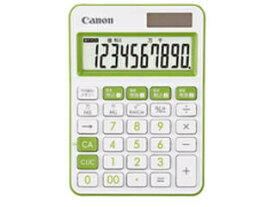 CANON/キヤノン カラフル電卓 ミニ卓上 10桁 LS-105WUC-GR SOB
